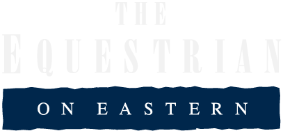 The Equestrian on Eastern Apartments Logo